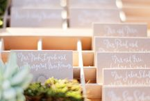 Seating Charts and Escort Cards / by Rachel Antonovich