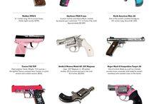 Guns / by Tina Marsh