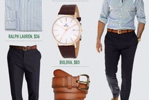 Men's fashion / by Elizabeth