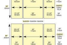 Handy Quilting Charts and References / Need visuals for all that complicated quilt math? Look no further! / by FaveQuilts