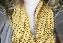 Crochet Scarves, Hats and Gloves / by Sandy LF