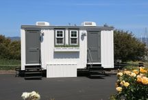 The Water Cottage / portable restrooms with design in mind / by Zephyr Tents