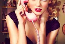 Make me pretty / cosmetics, fragrances, beauty / by Karen Kitsch the Retro Bitsch