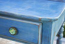 Repainted and Refurbished Lovelies / Vintage and restored beauties. / by Zahidee Mercedes