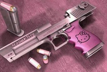 Cute weapons ;) / by Amber Rose
