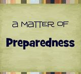 PREPAREDNESS / IT IS GOOD TO BE PREPARED FOR ANY TYPE OF EMERGENCY. I HOPE THESE POST WILL DO SOMEONE SOME GOOD. / by Nancy Huntington