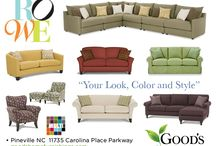 ROWE Furniture Colorful Choices / Charms for the easy life. Rowe Furniture in Charlotte NC. Relax, Unwind, Sit for a While. Leave the world behind.  / by Good's Home Furnishings