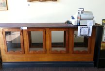 Displays,Furniture, and Clearance items for Sale  / from Blue Rage of Asheville Store displays for sale / by Rebecca Raige
