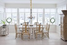 dining rooms / Square table for 8 / by Posey