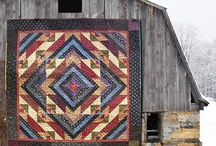 Quilts and Barns together / by Virginia Worden
