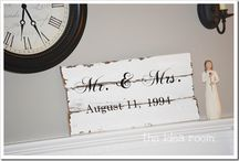 wood signs / by Billie Jo-Jody Adams