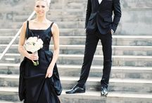 Black Wedding Gowns / by Weddings In Iowa