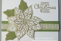 Joyful Christmas Cards SU / by Patricia Lemont