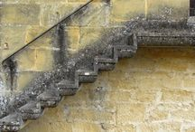 Marches - Stairs / Escaliers et marches  / by Michel B