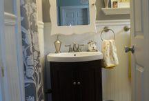 Bathroom ideas / by Lydia Weeks