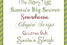 Christmas Time / by Leigh-Ann Ochsner