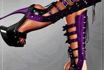 Gothic Victorian / Steampunk Shoes / Shoes/ boots / by Candy Zacarias