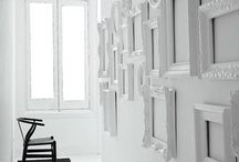 Black and White Room / Always wanted a black and white room with pops of color / by Alison Sciamanna