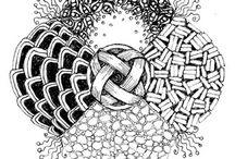 drawings/zentangles / by Joanne Huffman