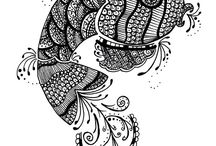 Zentangle.... ZENTANGLE and Art Ideas / Never heard of it before...but I LOVE IT !  Love Art.... / by Ruth .....
