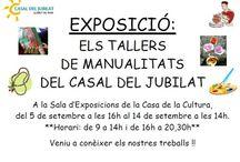 Tallers de Manualitats del Casal del Jubilat / by Expovirtual @bibliolloret