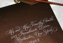 Calligraphy / by Kimberly Miller