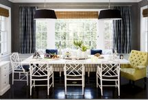 DINING ROOMS / Designer dining rooms... / by Cristin Priest | Simplified Bee