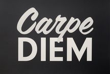 Carpe Diem / by Rachel Benavides