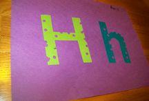h is for / by kristin :: preschool daze