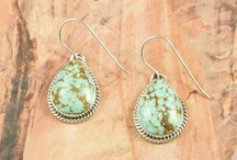 Earrings / by Treasures of the Southwest.com
