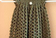 Vestidos y chalecos niñitas crochet / by Victoria Valdés