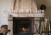 fireplaces / by Joy Martin
