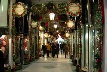 London at christmas / by Pam Critchfield