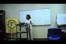 Public Speaking / by Author Yolanda Johnson-Bryant
