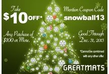 Coupons / Greatmats coupons for specialty flooring products. / by Greatmats.com