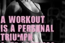 Working on my fitness.... / Workouts and Inspiration / by Kerri Davis