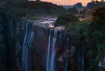 waterfalls . . . / by Patty Farb