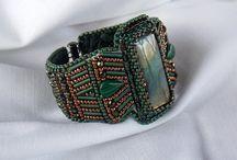 Beaded cuffs / by Terri Zink