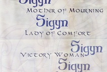 Sigyn / by spiderwitch A.