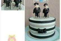 Birthday Cakes - Men - Astrids Bakkerij / by Astrids Bakkerij