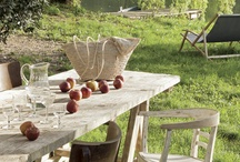 farm tables / by Penelope Bianchi