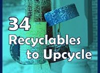 who knew...upcycling.... / by Cybele Ayaquica
