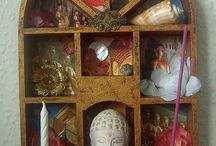 SHRINES - personal / by Kitty Ann