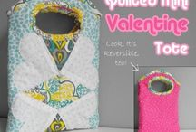 Valentines Sewing Ideas / by Deby at So Sew Easy
