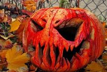 Pumpkin Carving Ideas / Pumpkin Carving Ideas and Pictures / by Halloween Freak Aka 80s Horror