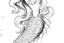 Mermaid / by Heather Hargan