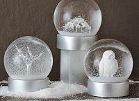 snow globes / by Cyndi Flynn