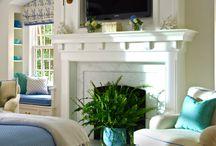 living room / by Heather Barrett