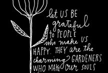 Seeds of Gratitude / Thank you life! / by Royale Scuderi