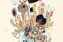 Art Selections/Illustrations / by Erik Berger